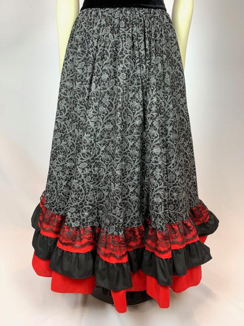 Shelby Skirt Red/Black
