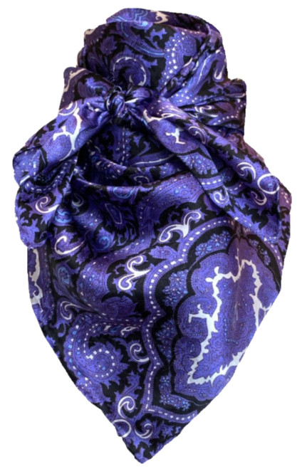 Paisley Purple and Black