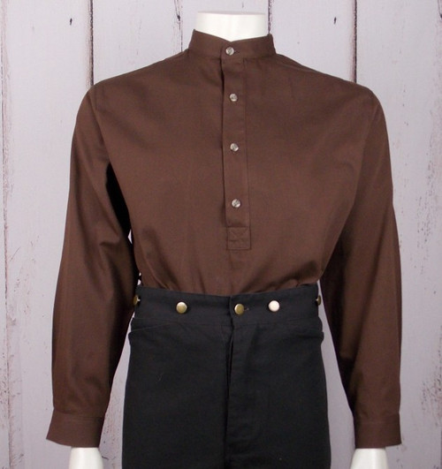 Hoss Shirt - Brown