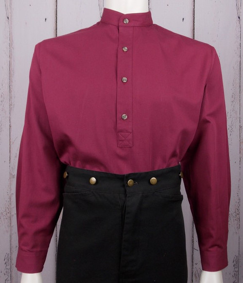 Hoss Shirt - Burgundy