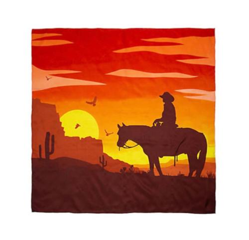 Southwest Sunset Cowboy