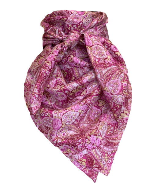 Calico Pink Paisley