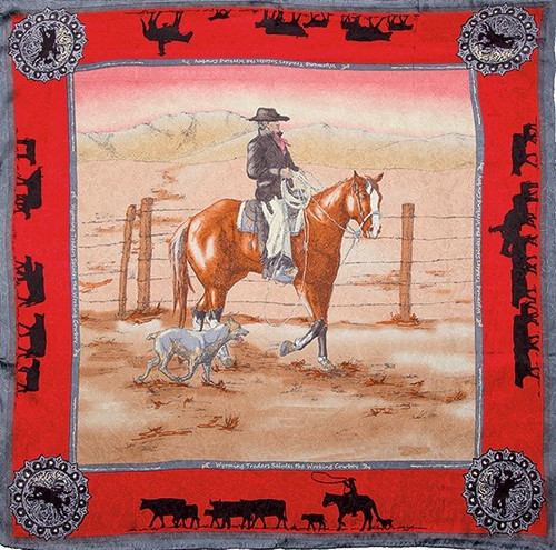 Anniversary Bay Red Limited Edition Silk Scarf