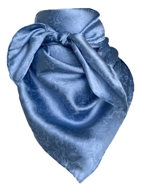 Jacquard Slate Blue