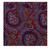 Calico Red and Blue Paisley