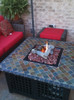 Blue Rhino LP Gas Outdoor Firebowl with Slate/Marble Mantel 4