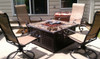 Blue Rhino LP Gas Outdoor Firebowl with Slate/Marble Mantel 5