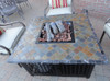 Blue Rhino LP Gas Outdoor Firebowl with Slate/Marble Mantel 6