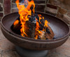 """Ohio Flame Patriot 24"""" Diameter Fire Pit Natural Steel 1"""