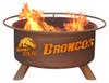 Patina Products - Boise State University College Fire Pit - F234 6