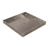 Warming Trends 48 inch Pan with 2 inch Sidewalls for Cross Fire Gas Burner Square