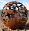 Fireball Fire Pits - Farm - 37.5 inch Fire Globe 14