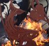 Fireball Fire Pits - Fish - 37.5 inch Fire Globe 3