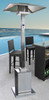 "TFPS Patio Heaters 93"" Tall Outdoor Commercial Stainless Steel Patio Heater - TFPS-HS-SS"