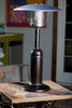 """TFPS Patio Heaters 39"""" Tall Table Top - Hammered Bronze Patio Heater - TFPS-HLDS032-CG"""