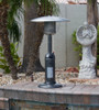 """TFPS Patio Heaters 39"""" Tall Table Top - Silver Patio Heater - TFPS-HLDS032-C"""