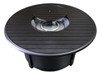 TFPS Round Slatted Aluminum Fire Pit Table - TFPS-F-1350-FPT