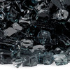 1/2 inch Black Reflecting Premium Fire Glass