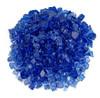 1/2 inch Cobalt Reflecting Premium Fire Glass 2
