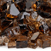 1/2 inch Copper Reflecting Premium Fire Glass