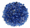 1/4 inch Cobalt Reflecting Premium Fire Glass 1