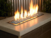 1/4 inch Pacific Blue Reflecting Premium Fire Glass 3