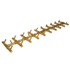 "Warming Trends Crossfire CFBT290 - 5"" x 37.75"" Tree-Style Brass Burner System"