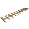 "Warming Trends Crossfire CFBT350 - 8"" x 52"" Tree-Style Brass Burner System"
