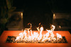 Fire Pit Art Linear 36 inch Natural Gas or Propane Fire Pit