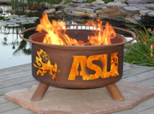 Patina Products - Arizona State ASU College Fire Pit - F213 1