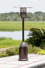 Fire Sense Well Traveled Living Hammer Tone Bronze Deluxe Patio Heater