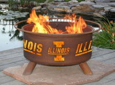 Patina Products - University of Illinois College Fire Pit - F220