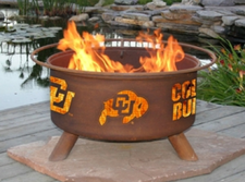Patina Products - University of Colorado College Fire Pit - F223