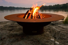 "Fire Pit Art Magnum 54"" Fire Pit With Cover 1"