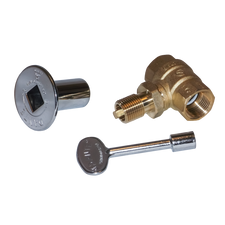 Warming Trends 3/4 inch Key Valve with Key and Plate