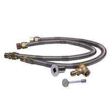 """Warming Trends 3/4"""" Flex Line and 3/4"""" Key Valve For Gas Burners"""