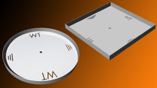 Warming Trends 30 inch Pan with 2 inch Sidewalls for Cross Fire Gas Burner
