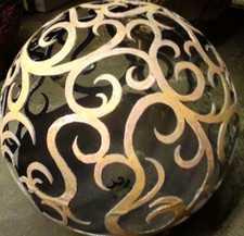 Fireball Fire Pits - Waves - 37.5 inch Fire Globe
