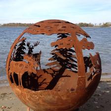 Fireball Fire Pits - Wild - 37.5 inch Fire Globe