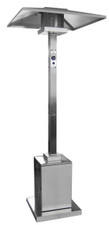"""TFPS Patio Heaters 93"""" Tall Outdoor Commercial Stainless Steel Patio Heater - TFPS-HS-SS"""