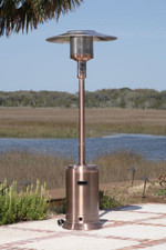Fire Sense Well Traveled Living Copper Commercial Patio Heater