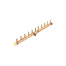 "Warming Trends Crossfire 110K BTU Linear Brass 22"" Burner"