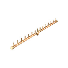 "Warming Trends Crossfire 150K BTU Linear Brass 30"" Burner"