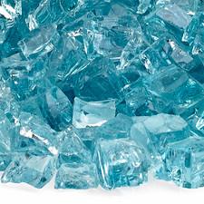 "1/2"" Azuria Reflecting Premium Fire Glass"