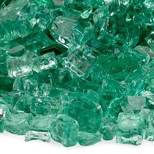 1/2 inch Evergreen Reflecting Premium Fire Glass