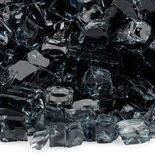 1/2 inch Black Classic Fire Glass