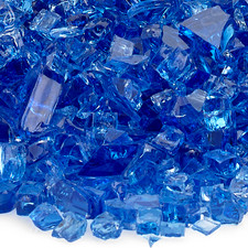 1/4 inch Cobalt Blue Classic Fire Glass
