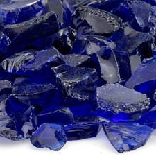 1/2 inch to 1 inch Dark Blue Economy Fire Glass