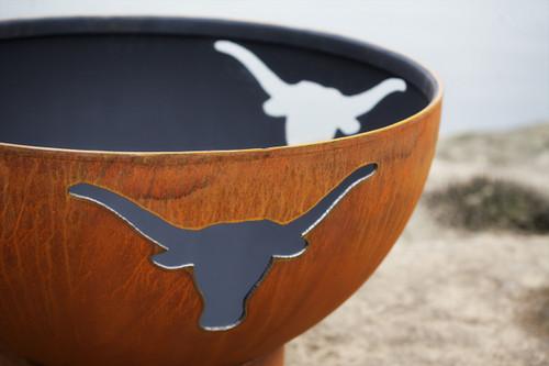 "Fire Pit Art 36"" Long Horn - The Heart Of Texas - LH - The ..."