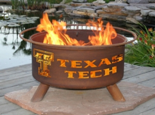 Patina Products - Texas Tech University College Fire Pit - F233